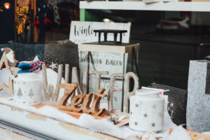 Winterliches Schaufenster Wald-Michelbach