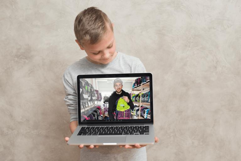 Online Schulranzenberatung für Kinder